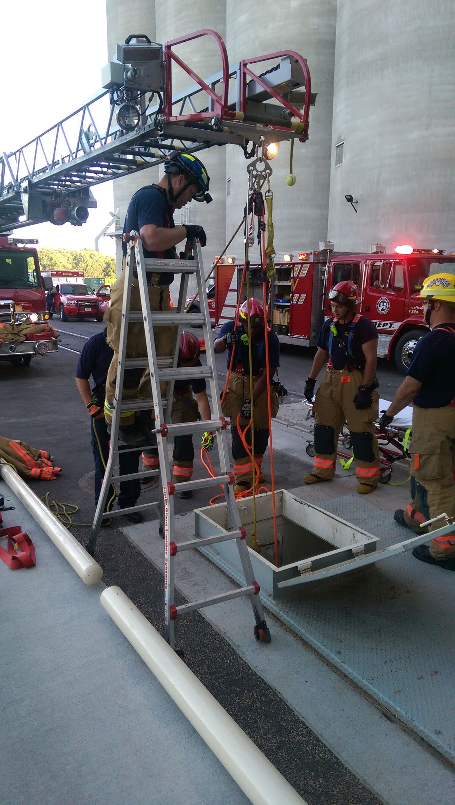 Confined Space Rescue 2015