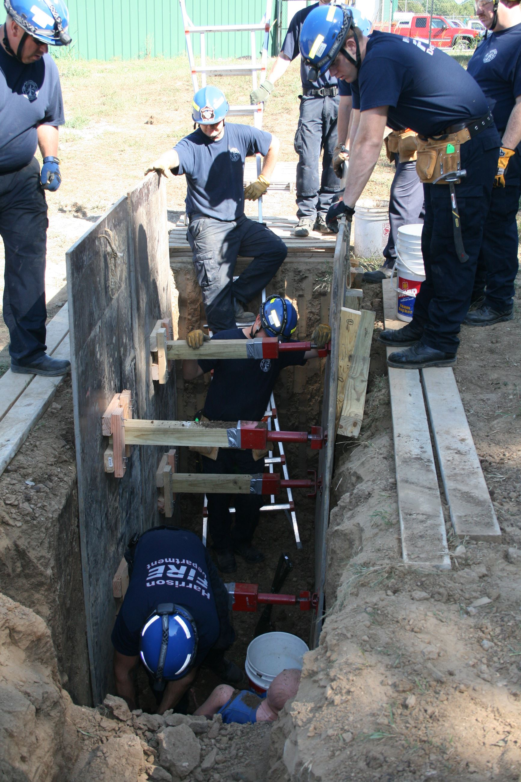 Trench Rescue Training